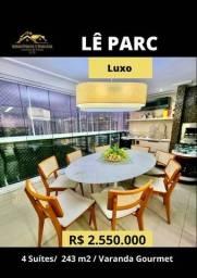 Título do anúncio: Lê parc 4 Suítes Vista maravilhosa pro verde