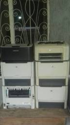 Lotes de impressoras hp