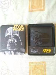Vendo Carteira Star Wars 100% Poliuretano Edição ilimitada