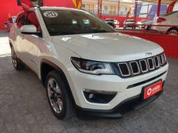 Título do anúncio: Jeep Compass longitude 20/20 Braco Perola 28 Mil Km