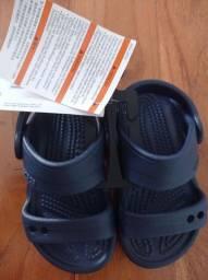 Sandália croc nova infantil