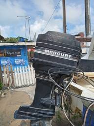 Motor de popa 45hp mercury