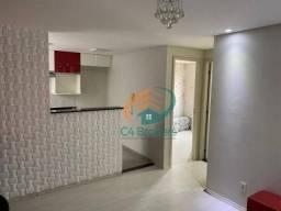 Apartamento com 2 dormitórios para alugar, 45 m² por R$ 1.426,00/mês - Bonsucesso - Guarul