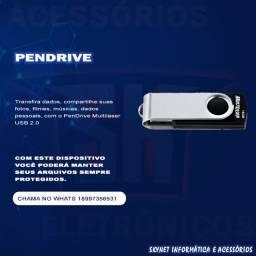 Título do anúncio: Pendrive multilaser 8GB