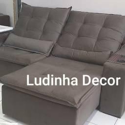 Sofá retrátil e reclinavel sofá retrátil e reclinavel