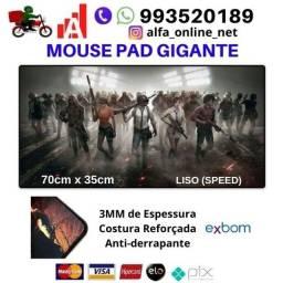 Tenha Alta Performance com Mousepad Mouse Pad Gamer Bordas costuradas Grandes Gigantes