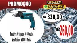 Furadeira De Impacto De 500watts Velo Variável M0801b Makita
