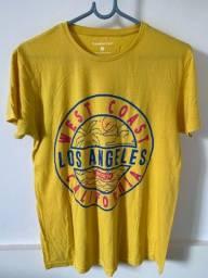 Camiseta amarela Cedarwood