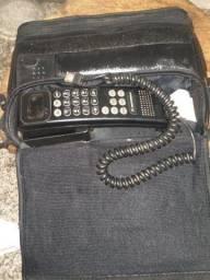 Telefone automotivo antigo