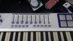 teclado controlador waldman carbon 49