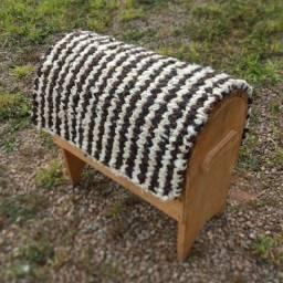 Manta de Lã de Carneiro Trançada para Montaria Profissional