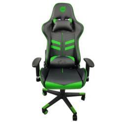 Cadeira Gamer Prime X - Preto com verde - Dazz | Lacrada com garantia