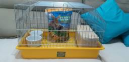 Gaiola mini coelhos