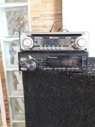Vendo pioneer 30 com a saida quimada e o outro 20 fuciona mas n sai audio