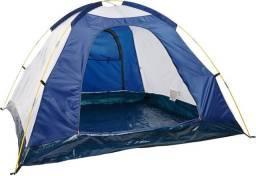 Barraca Camping Nautika Dome 3 Pessoas Impermeavel C/ Bolsa