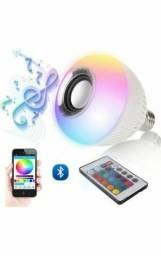Lâmpada Led Music Bulb Bluetooth Bulbo Rgbw Festa Quarto Dj (ENTREGA GRÁTIS)