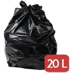 Título do anúncio: Saco de Lixo 20L pacote com 100 unidades