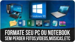 Título do anúncio: Renove a vida do seu PC! (Formatação)