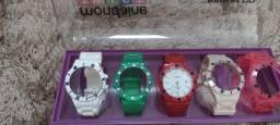 Relógio Mondaine troca pulseiras novo