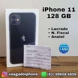 iPhone 11 de 128 GB - Lacrado - N. fiscal - Garantia - Anatel