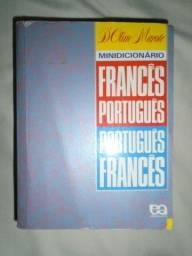 Título do anúncio: Minidicionário Francês Português Francês D'olim Marote