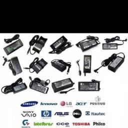 carregadores Dell, Lg, Cce, Hp, Samsung, Toshiba, Phico, Asus Etc.