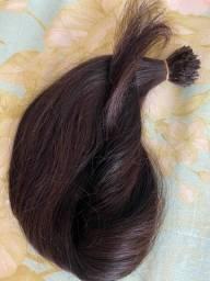 Vendo cabelo humano  de 55 cm 90 gm