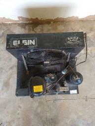 Unidade Condensadora Elgin (Compressor Queimado)