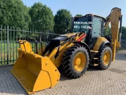 Retroescavadeira Caterpillar 444 2019 com 1450 horas, com serviço entrada + parcelas