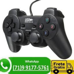 Controle PC Joystick Game Controller Usb 2.0 Gamepad Computador (NOVO)
