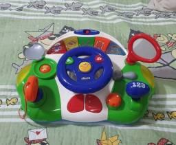 Volante musical marca Chicco brinquedo infantil