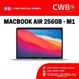 MacBook Air 20,256GB, Chip M1. Novo lacrado e garantia apple. Loja física