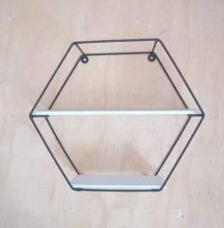 Nicho preteleira hexagonal