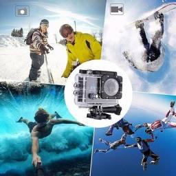 câmera Action Cam Wifi Câmera Capacete Esporte Mergulho Hd 1080p 4k