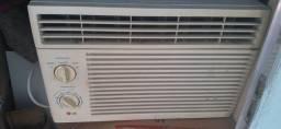 Ar condicionado LG gelando classe de consumo A.