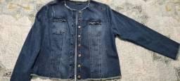Jaqueta jeans Program usada 1x tamanho equivalente ao 48