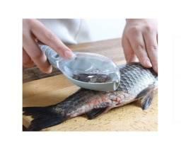 Tira Remove Escama Limpa Peixe Aparelho De Cozinha