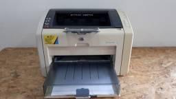 Impressora laser HP 1022 em excelente estado + um toner novo e garantia