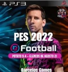 Título do anúncio: Pes 2022 PlayStation 3 HEN / CFW ( aceito cartão e Pix)