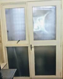 Divisoria de parede com porta