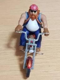 Vendo Figura Motoqueiro Miniatura.