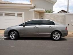 Civic LXS 1.8 Flex-Automático-Completo+Couro-Revisado-Aceito Troca-Financio - 2010