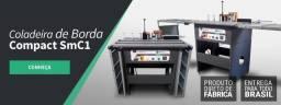 Coladeira de Borda Compact SmC1 Smartmaq Com Mesas Auxiliares