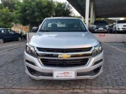 Chevrolet 2017 s10 lS 4x4 cabine simples diesel prata completa 2017 - 2017