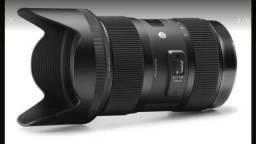 Lente 18-35mm F/1.8 Sigma Linha Art (NIKON)