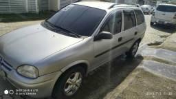 Corsa wagon 99, ar, trava, direção e gnv 6900.00 - 1999