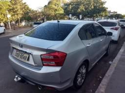 Honda City 1.5 Ex Flex Aut. 4p troca onix/hb20 2018 ou 2019 - 2013