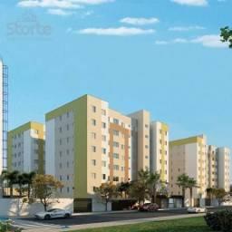 Apartamento com 2 dormitórios à venda, 51 m² por R$ 145.000 - Chácaras Tubalina - Uberlând