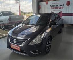 NISSAN VERSA 1.6 16V FLEXSTART UNIQUE 4P XTRONIC. - 2018
