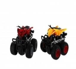 Carrinho Fricção Express Wheels Quadriciclo Vermelho - Br793